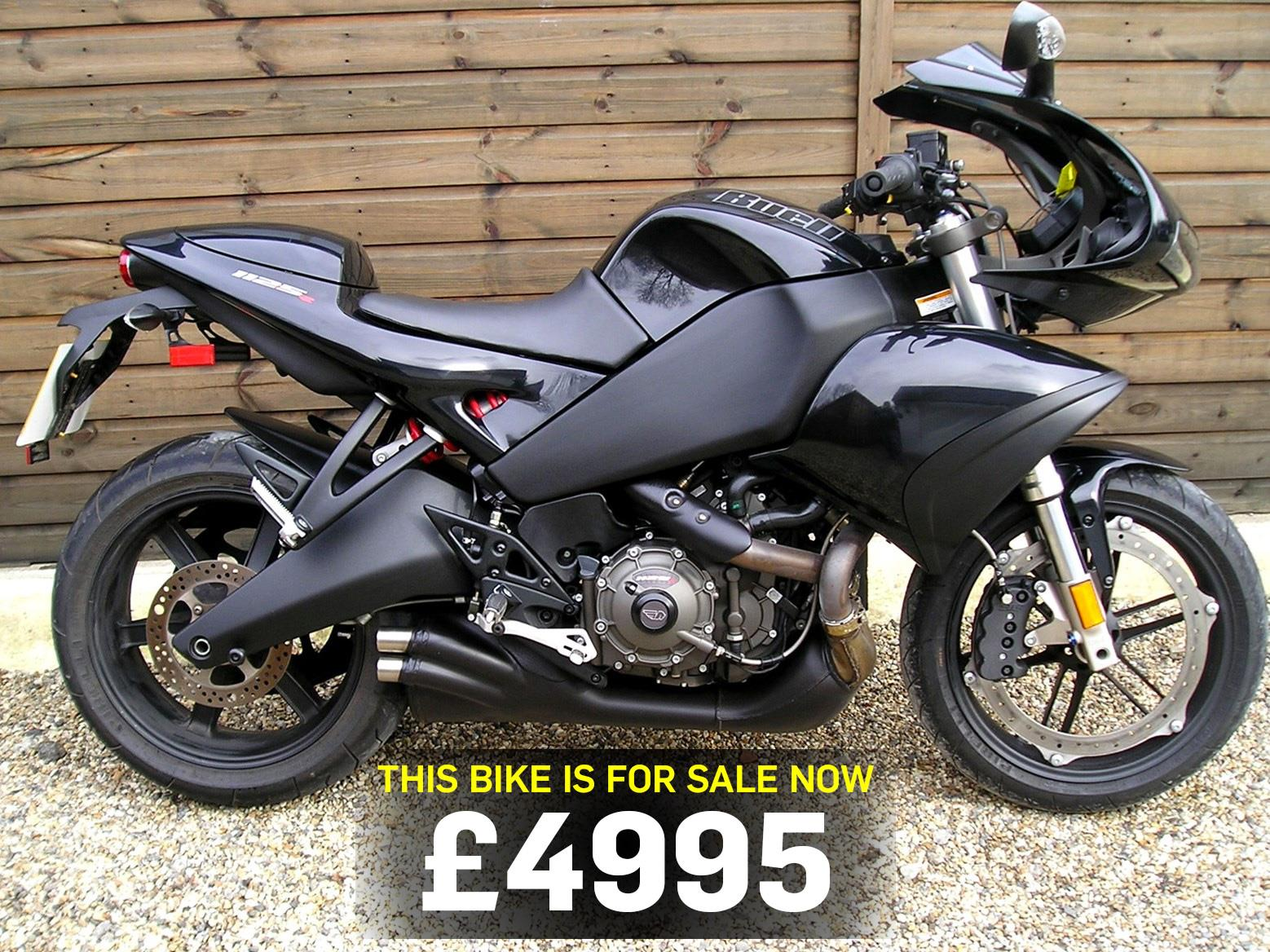 bike of the day buell 1125r mcn