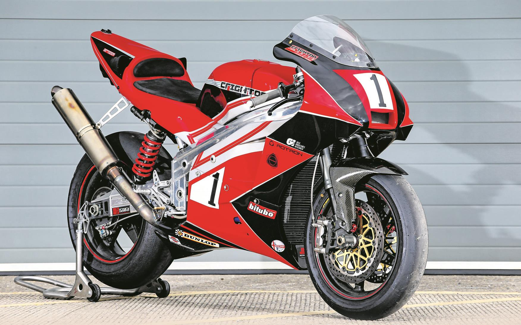 World exclusive: Rotary returns | MCN Race Bike Photos