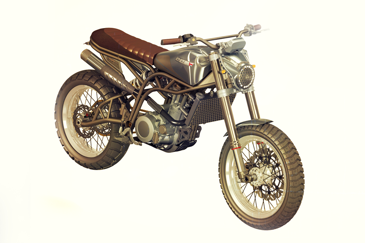 New CCM Spitfire Scrambler revealed | MCN