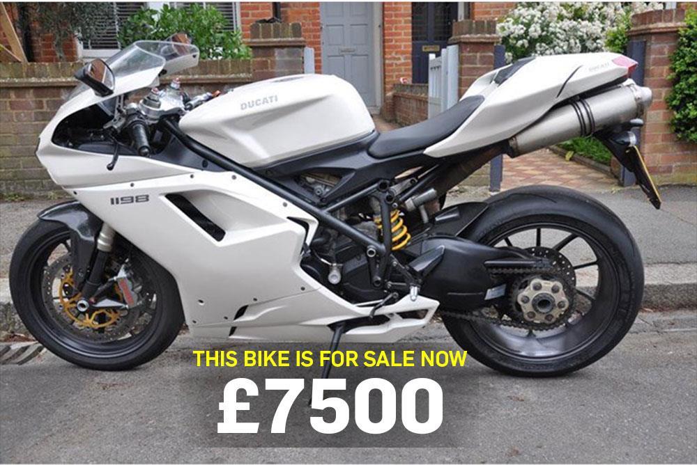 bike of the day: ducati 1198   mcn