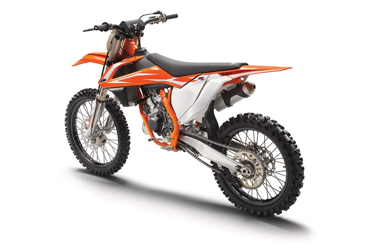 2018 ktm sx range in dealers this month mcn. Black Bedroom Furniture Sets. Home Design Ideas