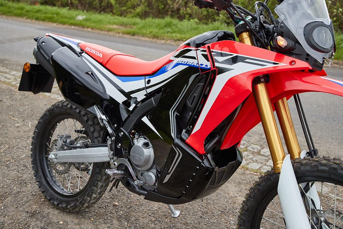 honda crf250 rally a great lightweight adventure bike. Black Bedroom Furniture Sets. Home Design Ideas