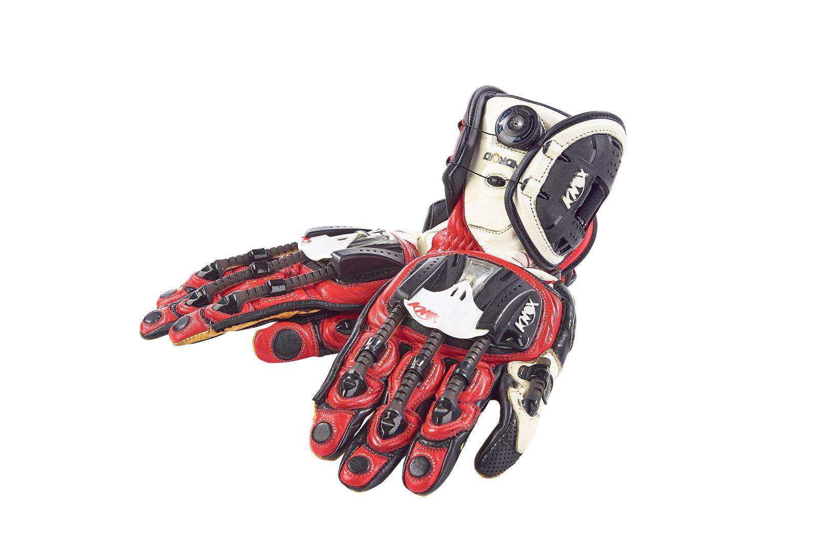 Motorcycle gloves exoskeleton - Knox Handroid Motorcycle Gloves