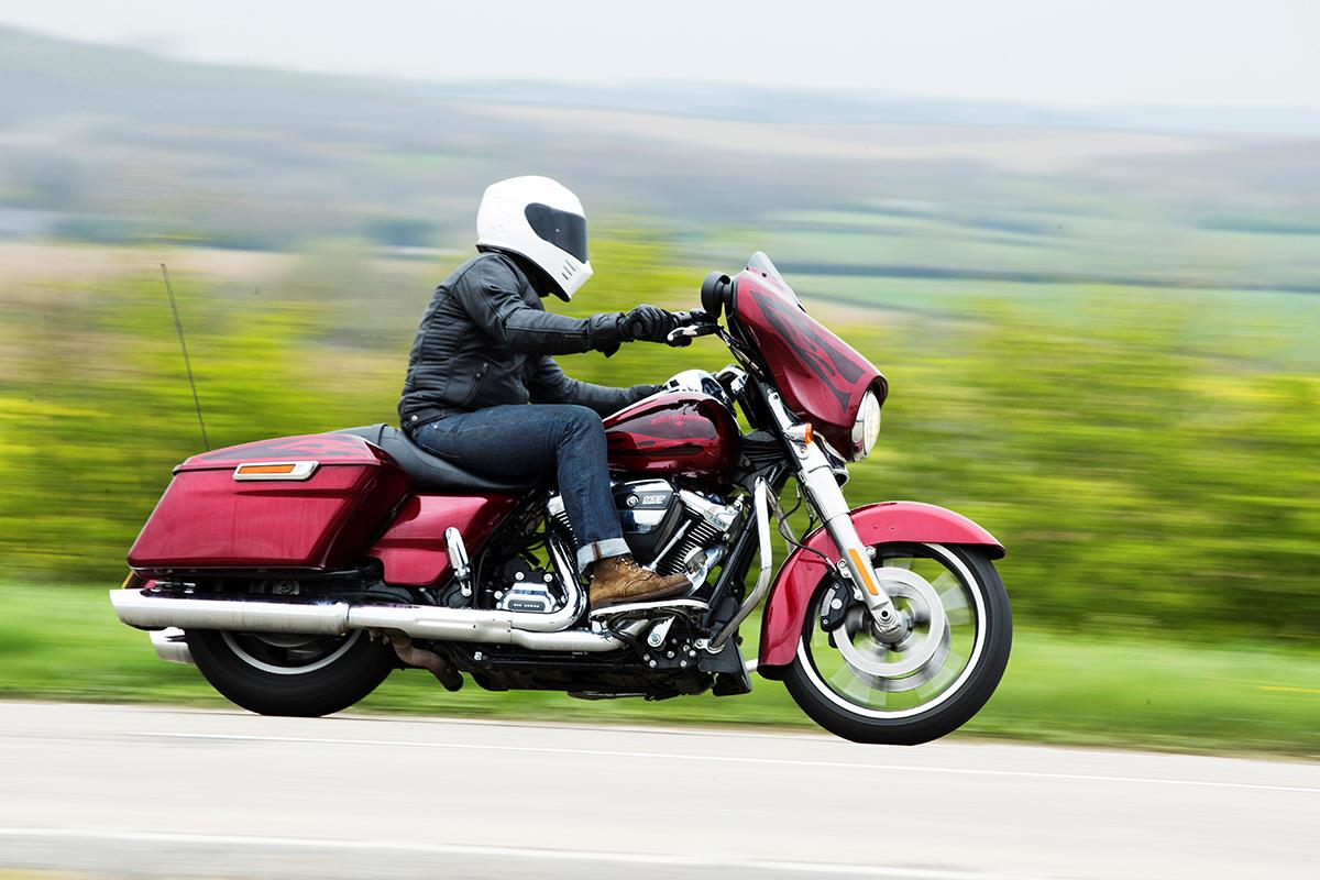 Harley-Davidson Street Glide: Is it comfortable?