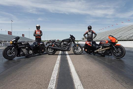 Harley-Davidson turn Street Rod into drag racer | MCN