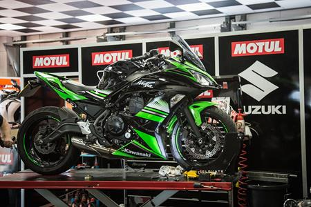 MCN Fleet: Service time again for the Ninja 650