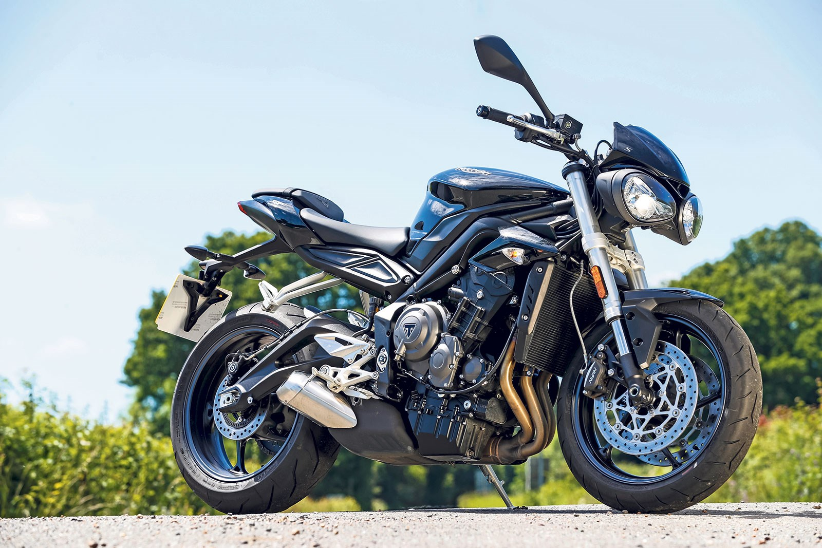 Triumph Street Triple 765 S 2017 On Review Mcn