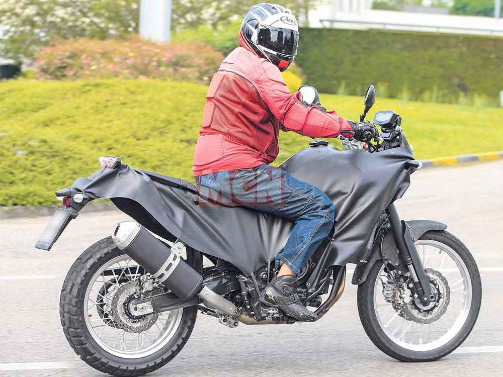 Spy shots! New MT-07 adventure bike spotted