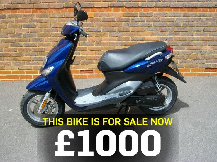 Bike (scooter) of the day: Yamaha YN50 NEOS 4
