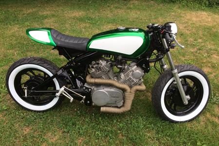 Shed wreck to cafe racer: 'It started as a standard 1982 Virago' ...