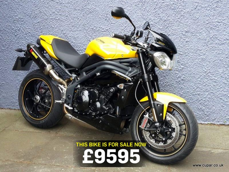 Bike Of The Day Triumph Speed Triple 94r