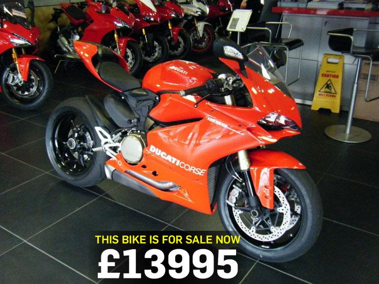bike of the day: ducati 1299 panigale | mcn