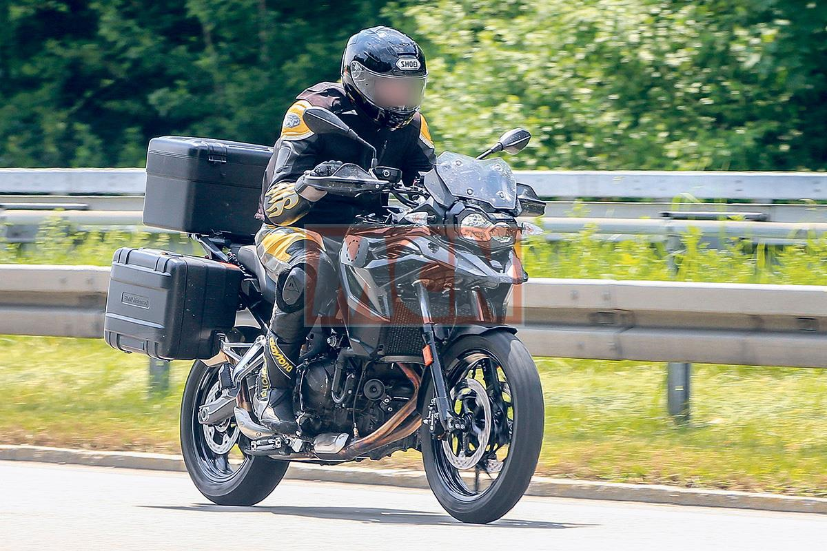 Bigger Bmw F700gs On The Way Mcn