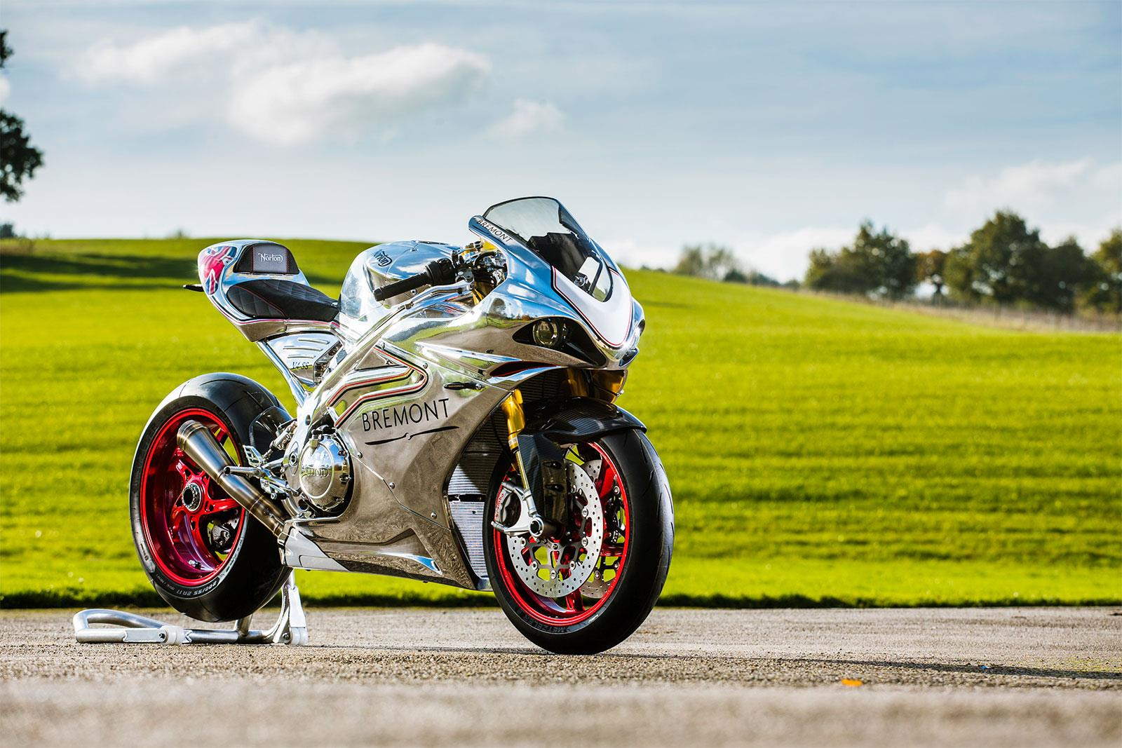 Norton design 650cc twin for Chinese firm