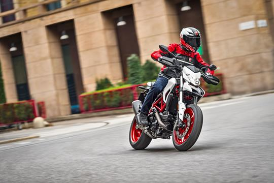 ducati hypermotard 939 now available in white | mcn