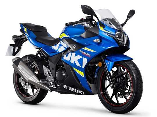 SUZUKI GSX250R  (2017-on)