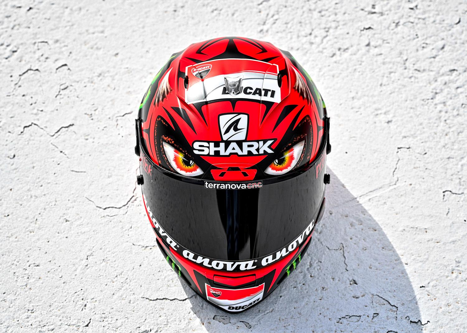 motogp lorenzo unveils 39 diablo 39 helmet mcn. Black Bedroom Furniture Sets. Home Design Ideas