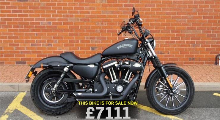 bike of the day harley davidson sportster 883. Black Bedroom Furniture Sets. Home Design Ideas