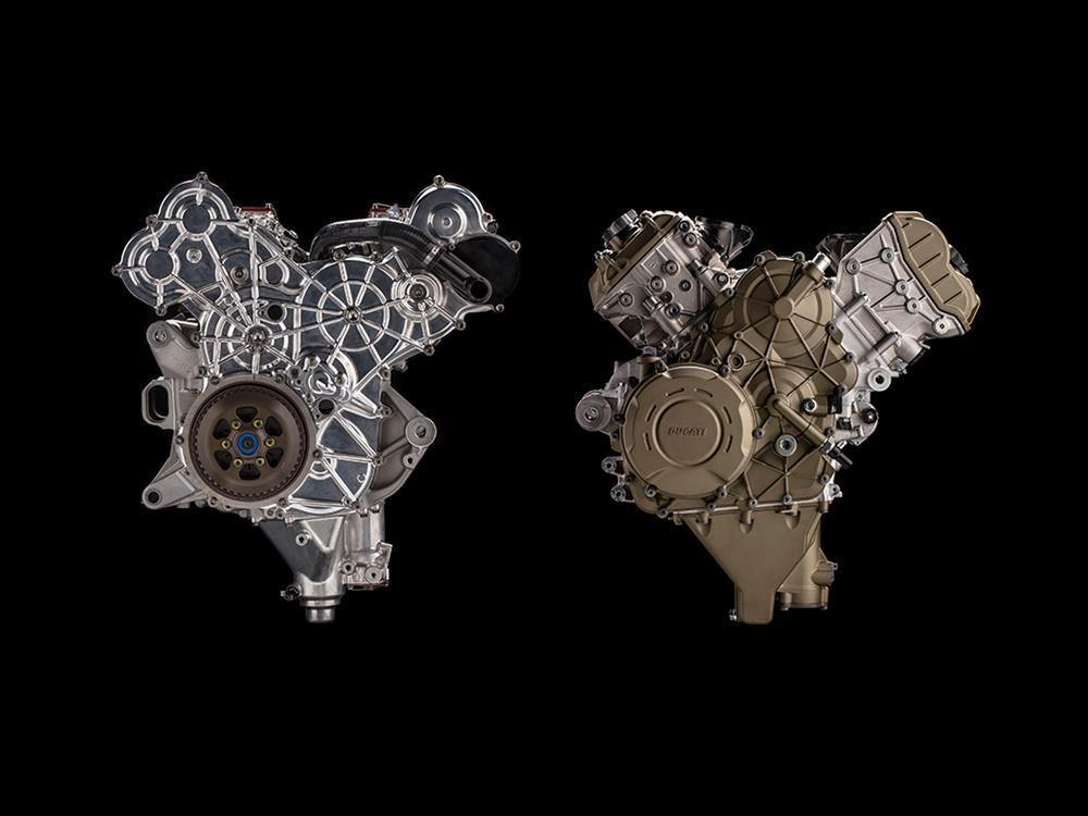 Ducati Desmosedici Stradale 1100cc V4 engine unveiled