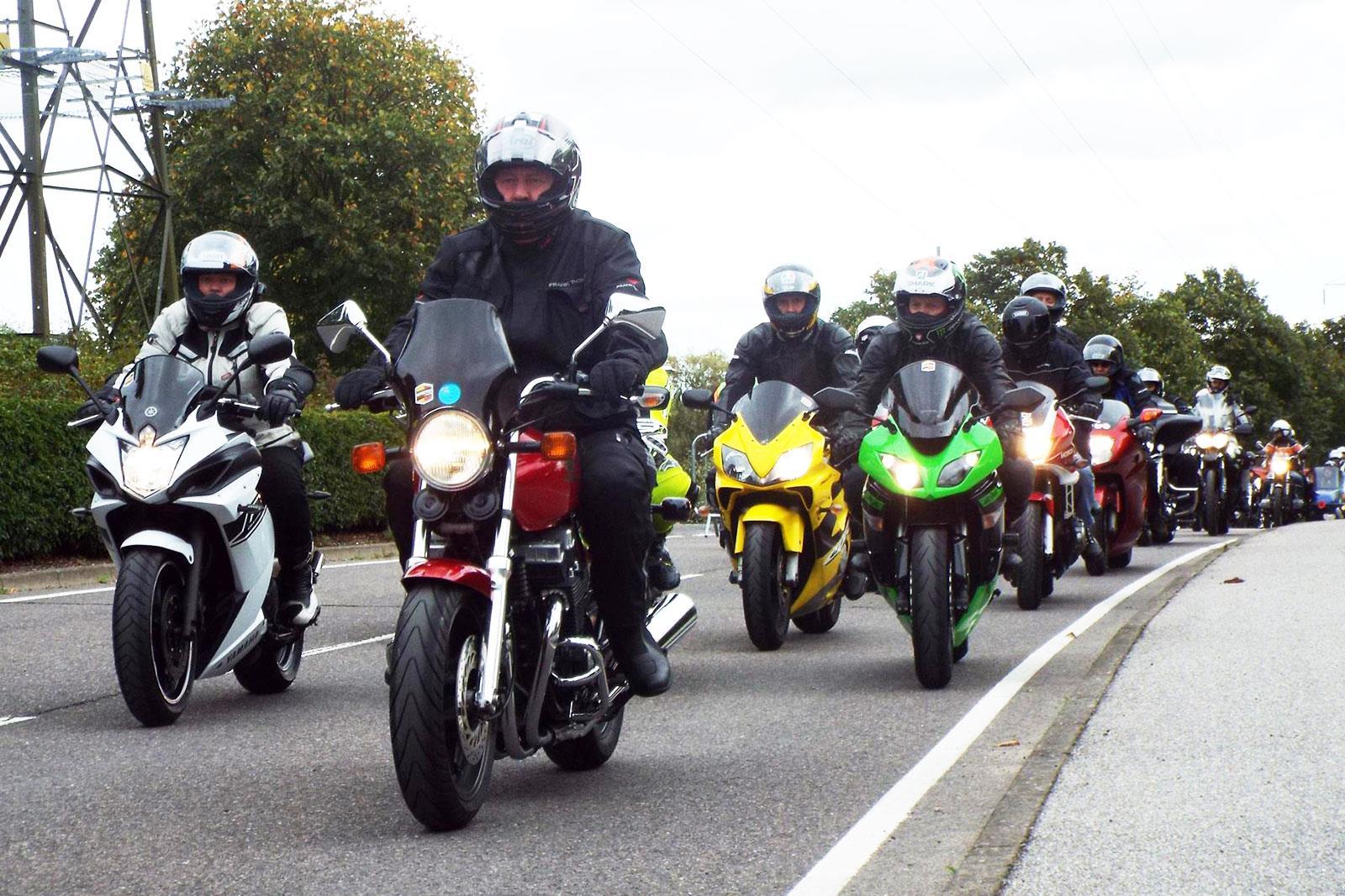 ride bikers ambulance air ehaat essex gather massive harwich dunton mcn