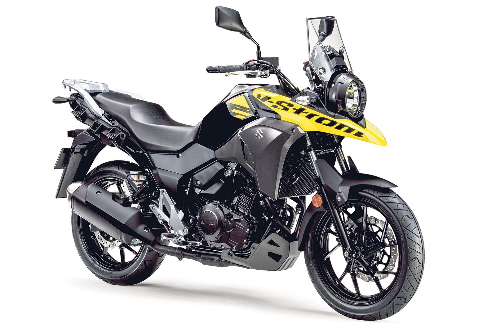 suzuki dl250 v strom 2017 on review specs prices mcn. Black Bedroom Furniture Sets. Home Design Ideas