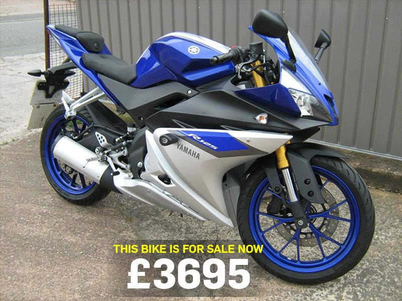 bike of the day yamaha yzf r125. Black Bedroom Furniture Sets. Home Design Ideas
