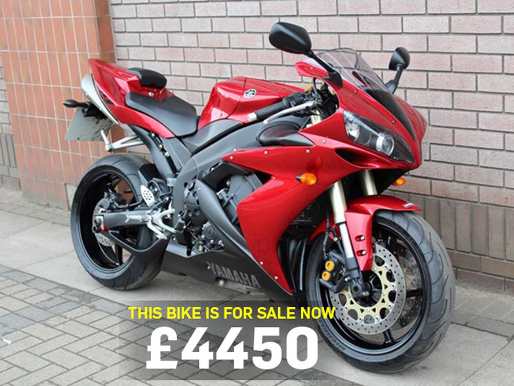 Bike of the day yamaha r1 mcn yamaha r1 motorcycle for sale publicscrutiny Images