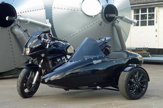 Watsonian Sidecars get, er, sporty
