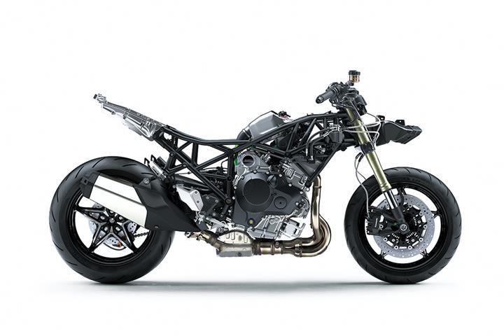 Kawasaki reveal supercharged Ninja H2 SX