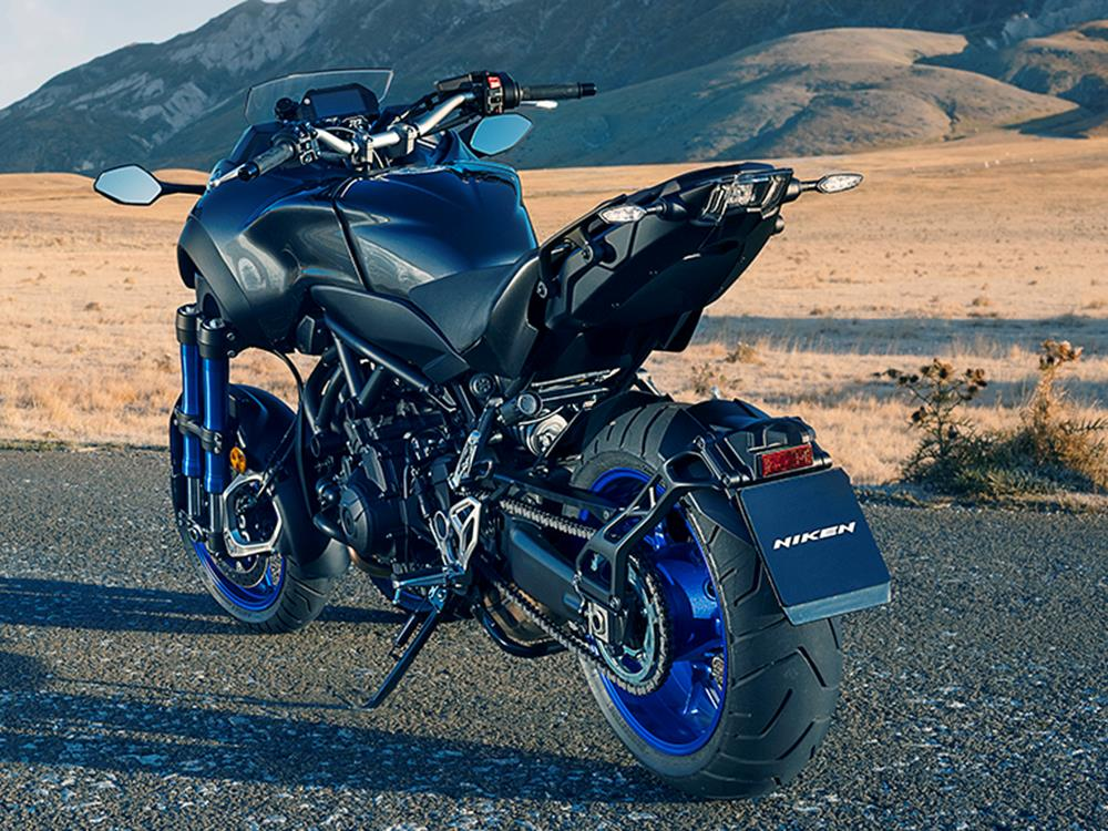yamaha niken. yamaha reveal stunning new niken three-wheeler \