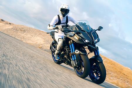 Yamaha Reveal Stunning New Niken Three Wheeler