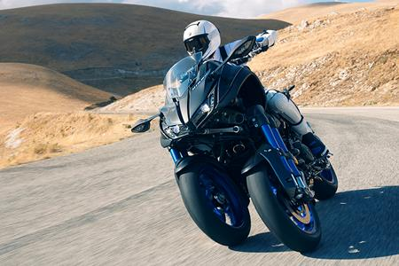 Yamaha reveal stunning new Niken three-wheeler