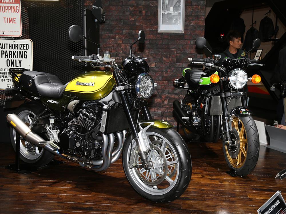 Amazing Kawasaki Z900RS Customs At Tokyo Motor Show