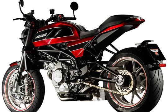 Moto Morini Milano unveiled