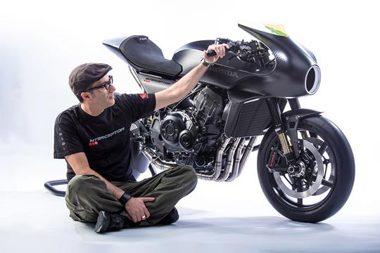 Honda look to the future with CB4 Interceptor   MCN