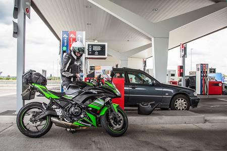 Mcn Fleet Kawasakis Ninja 650 Proves A Frugal Friend