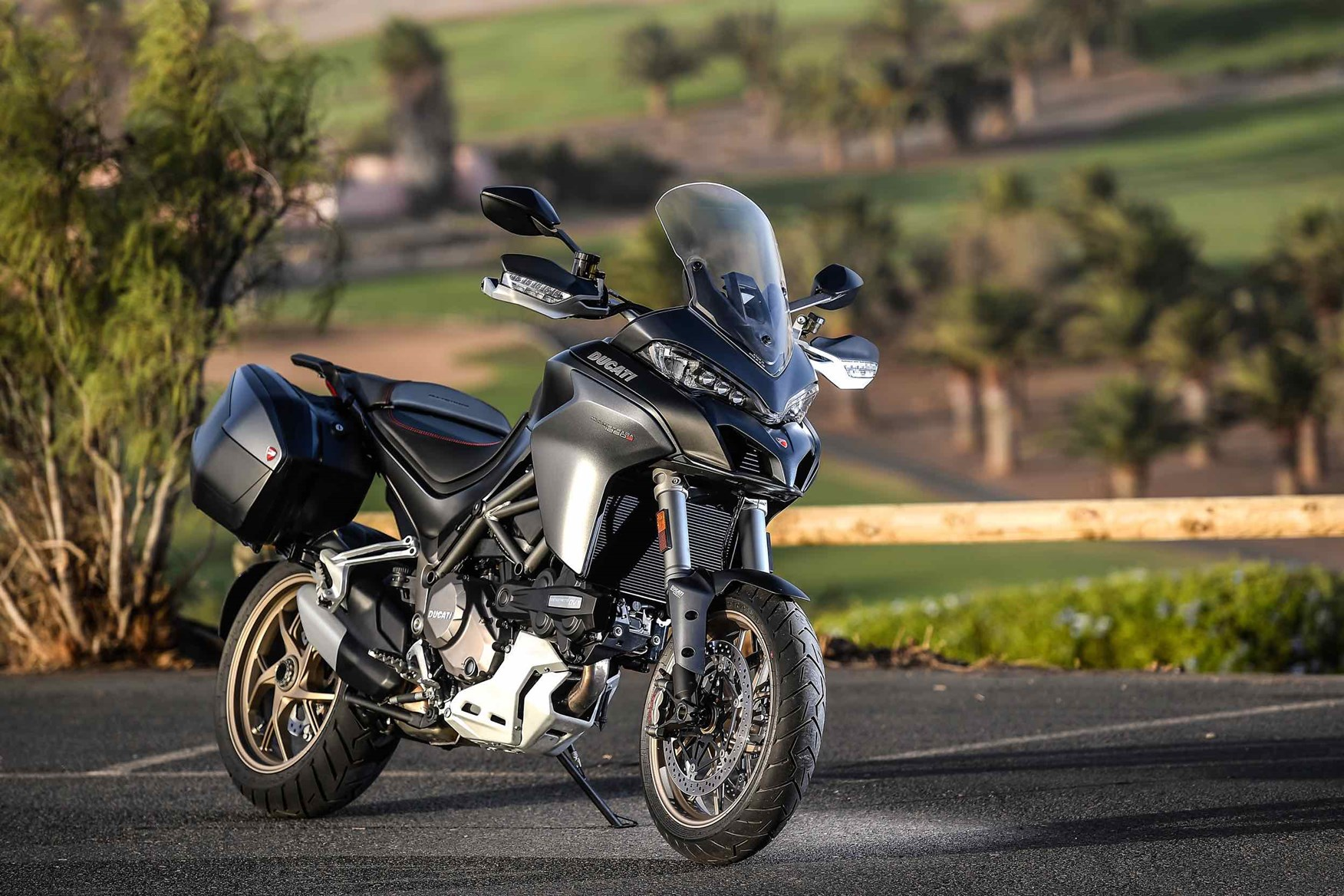 Ducati Multistrada 1260s 2018 On Motorcycle Review Mcn