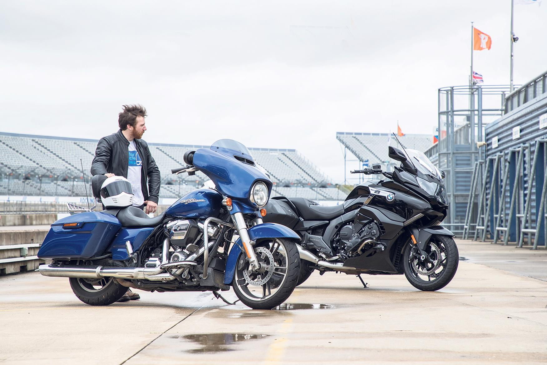 How Does The Glide Compare To The Bagger Mcn