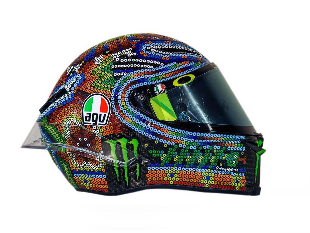 MotoGP Valentino Rossi Winter Test 2018 Helmet