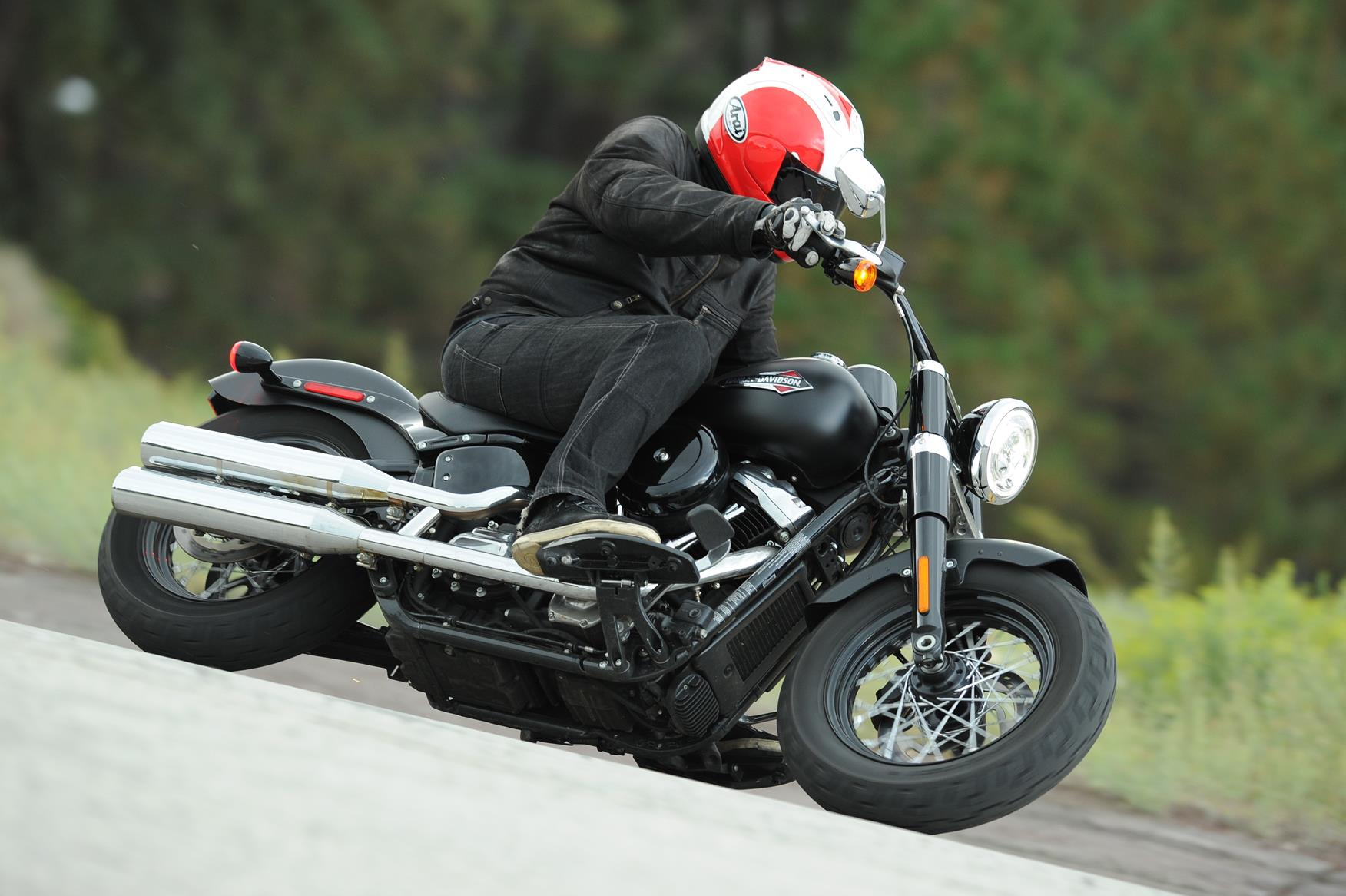 2018 Softails For Sale >> HARLEY-DAVIDSON SOFTAIL SLIM (2017-on) Review | MCN