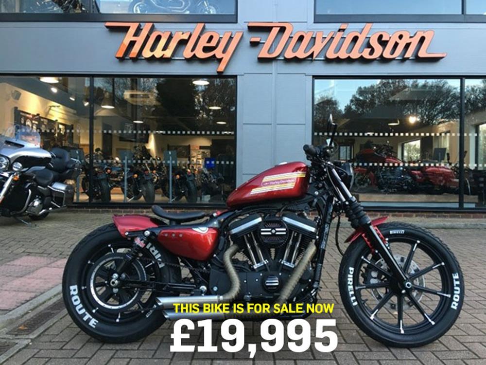 Bike Of The Day Custom Harley Davidson 883 Sportster