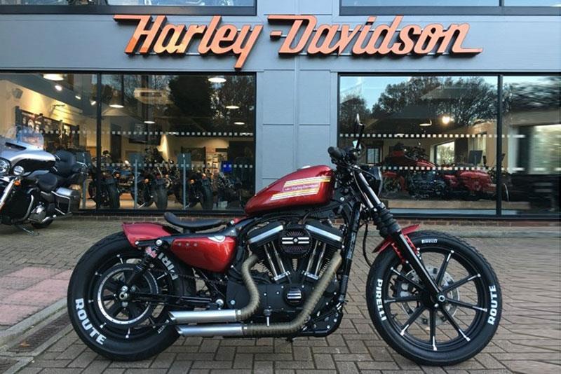 7 head-turning Harleys