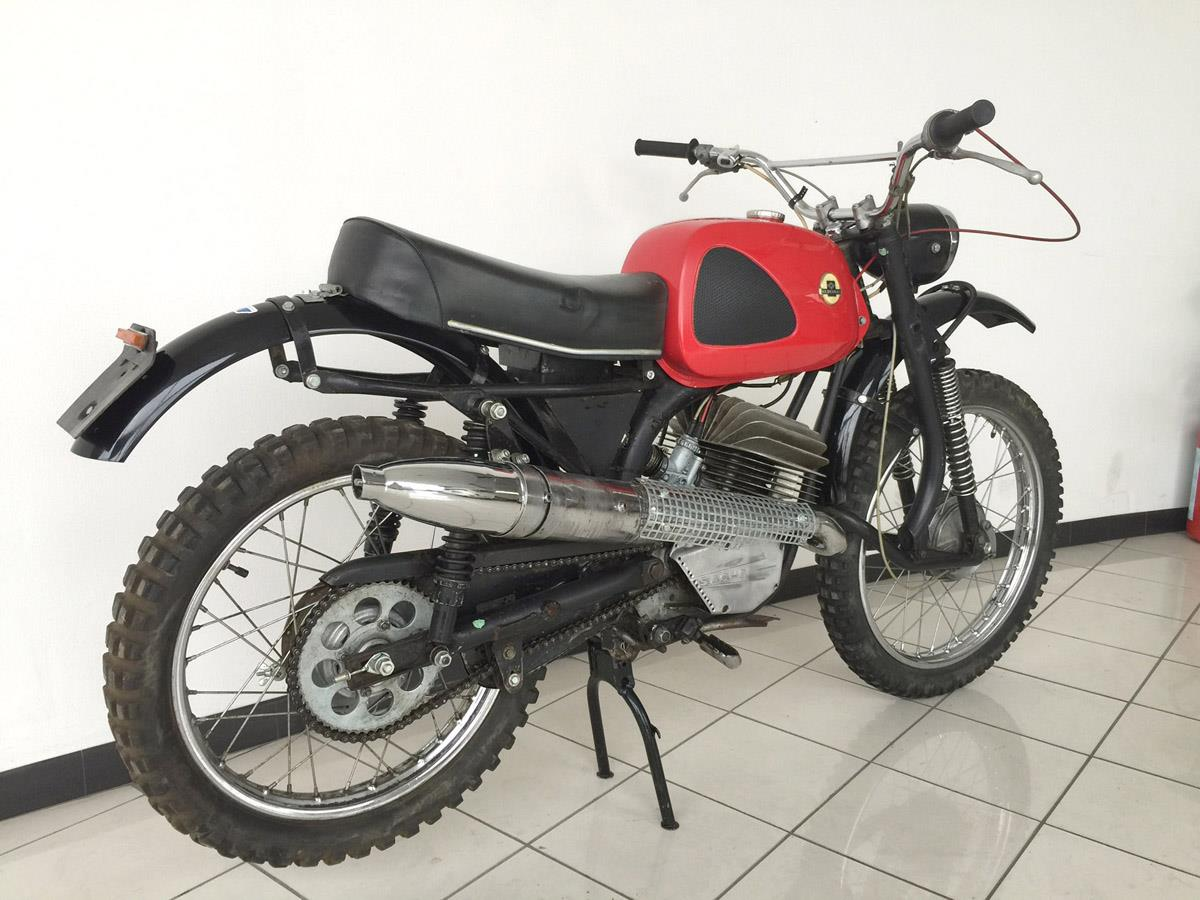 Bike of the day: Hercules K125 GS goes under the hammer at