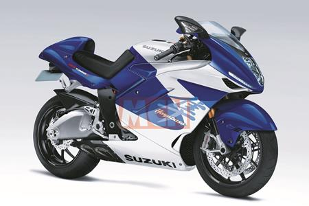 Suzuki quietly working on a new Busa