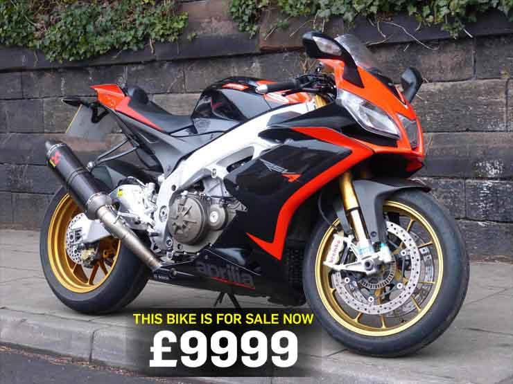 Aprilia Rsv4 For Sale >> Bike Of The Day Aprilia Rsv4 Factory