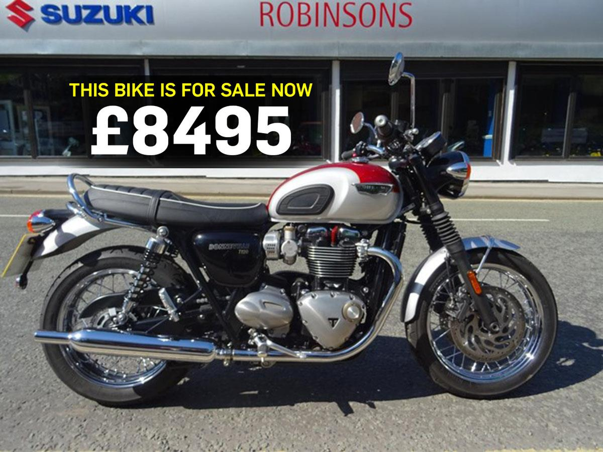 Triumph Bonneville T120 for sale
