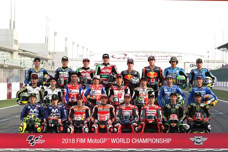 Motogp Riders Gather For Class Photos Mcn