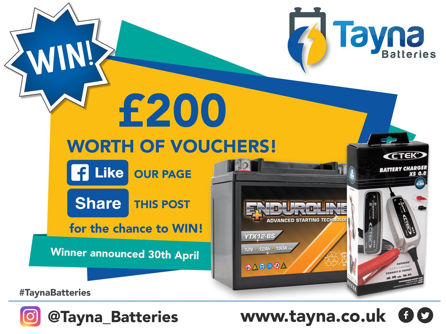 Tanya Batteries competition