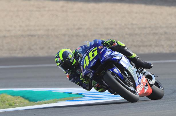 Motogp Old Gremlins Return For Yamaha At Jerez Mcn