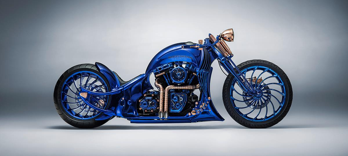 World's most expensive motorbike: A £1.4m Harley Davidson | MCN